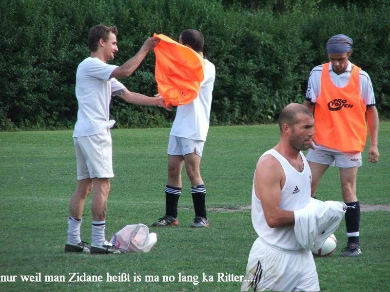 zidane darf kein ritter sein, 2005